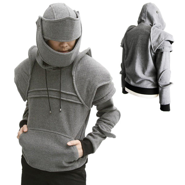 Armored Medieval Armor Pullover Hoodie